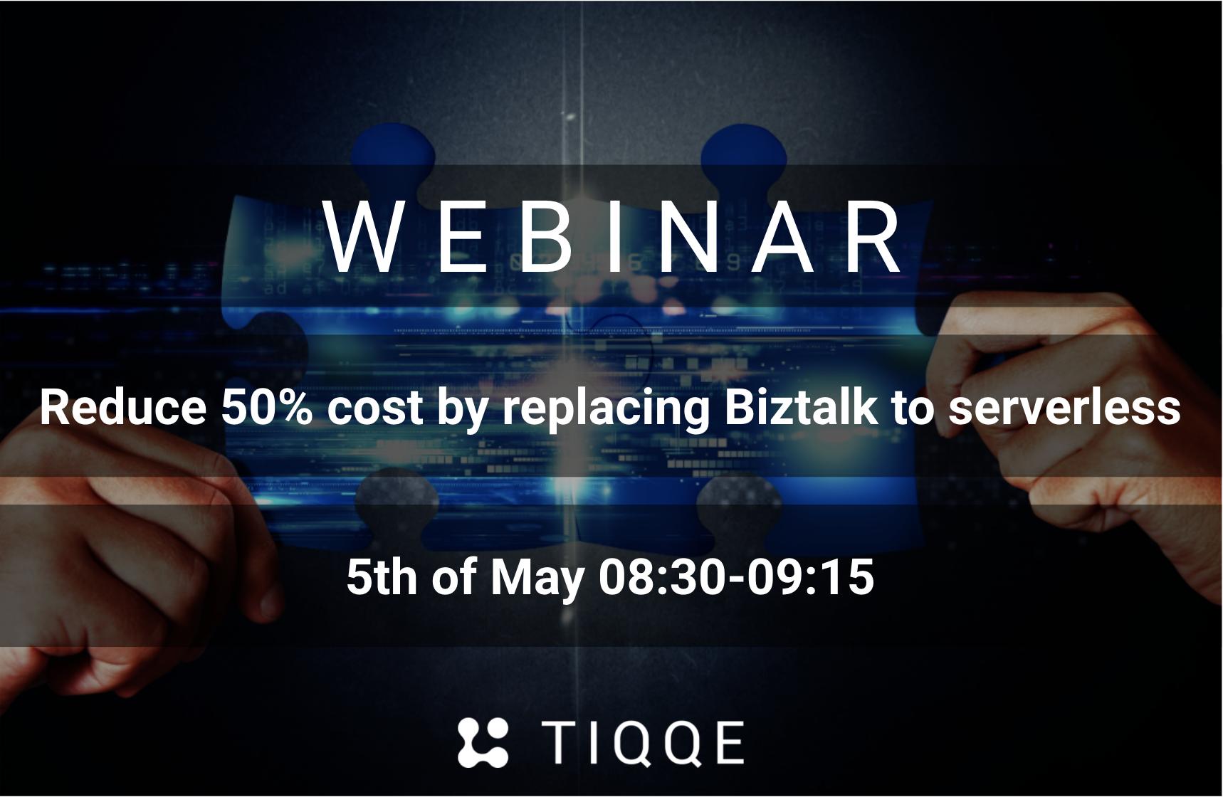 Join our Biztalk replace webinar