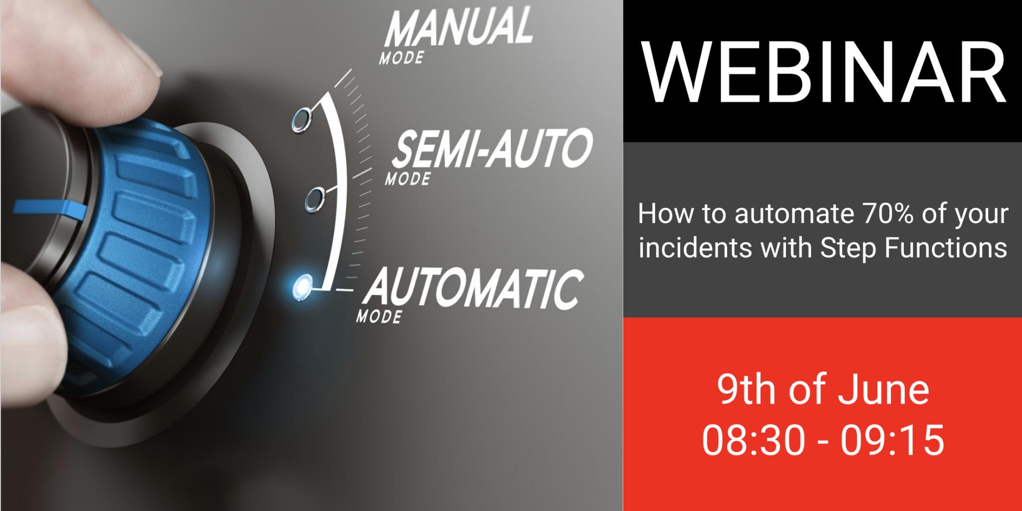 Incident automation webinar